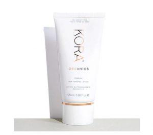 Kora self-tanning lotion